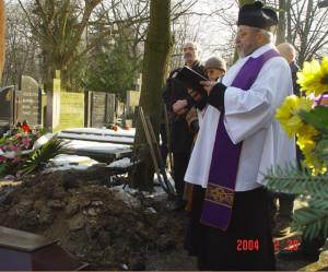 Cmentarz - modlitwa  ks. Henryk Michalak