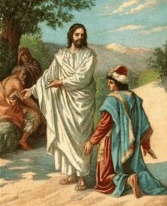 Jezus i bogaty młodzieniec