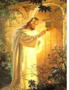 Jezus pukający do drzwi 1