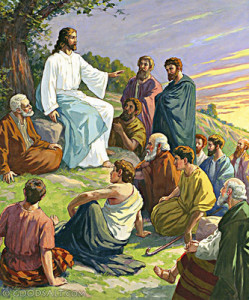 Jezus i uczniowie